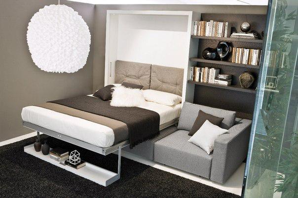 Zebra Wood встроенная кровать платформы - Модерн - Спальня - от Furman + Ke