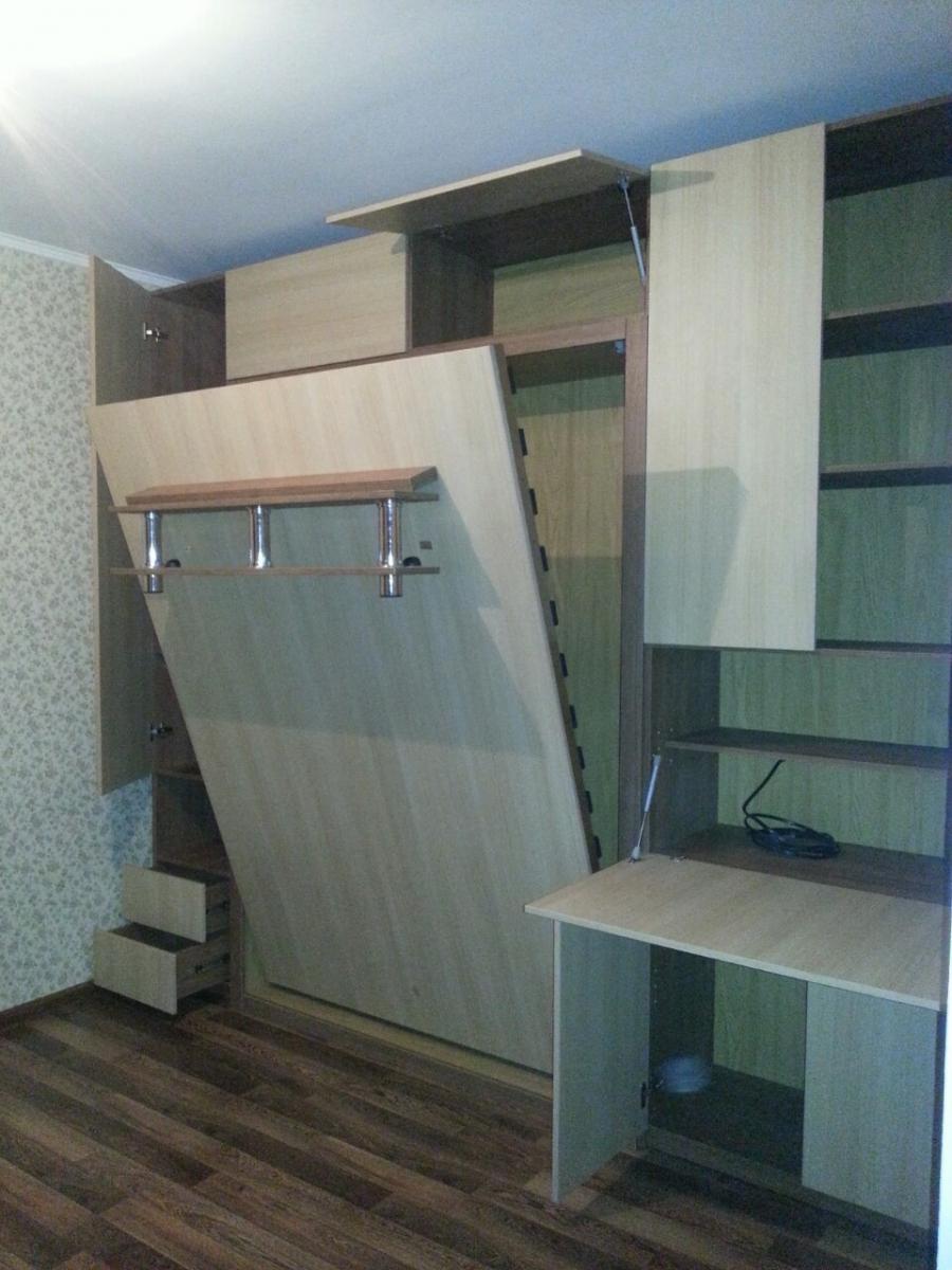 Подъемная кровать с диваном в Москве с доставкой